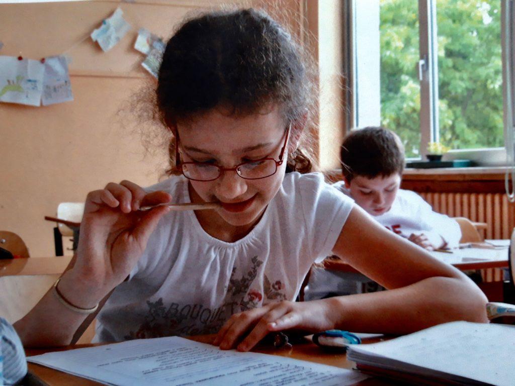 в русской школе