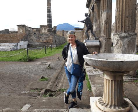 Я в Помпеях