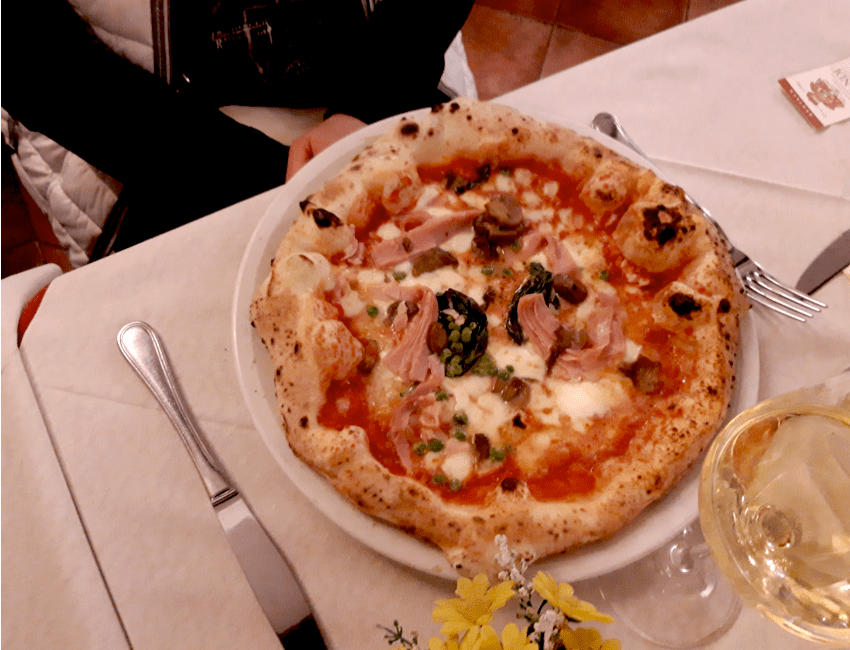 пицца Бранди